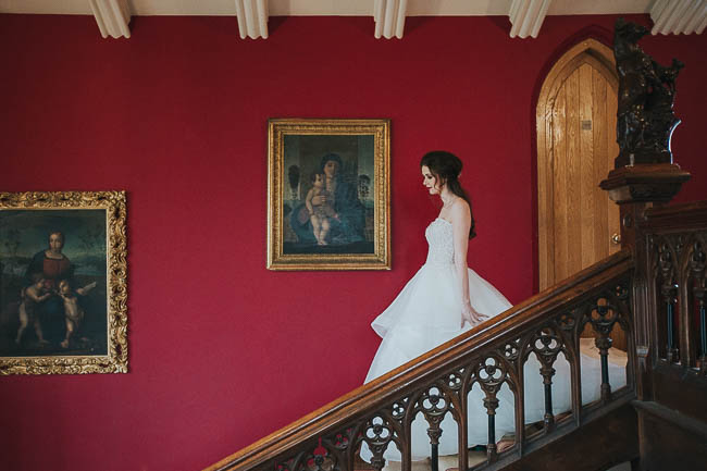 Gothic and glamorous wedding inspo from Carlton House in Yorkshire with Laura Calderwood Photography (1)