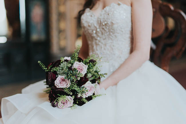 Gothic and glamorous wedding inspo from Carlton House in Yorkshire with Laura Calderwood Photography (7)