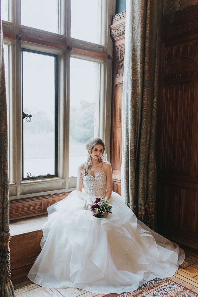 Gothic and glamorous wedding inspo from Carlton House in Yorkshire with Laura Calderwood Photography (8)