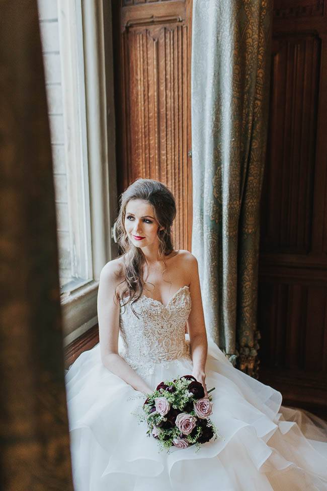 Gothic and glamorous wedding inspo from Carlton House in Yorkshire with Laura Calderwood Photography (9)