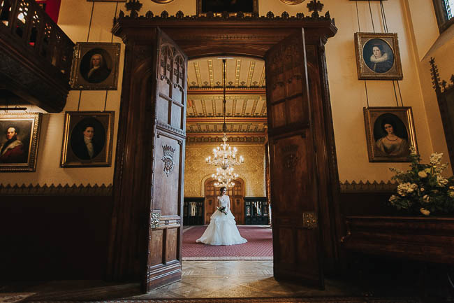 Gothic and glamorous wedding inspo from Carlton House in Yorkshire with Laura Calderwood Photography (2)