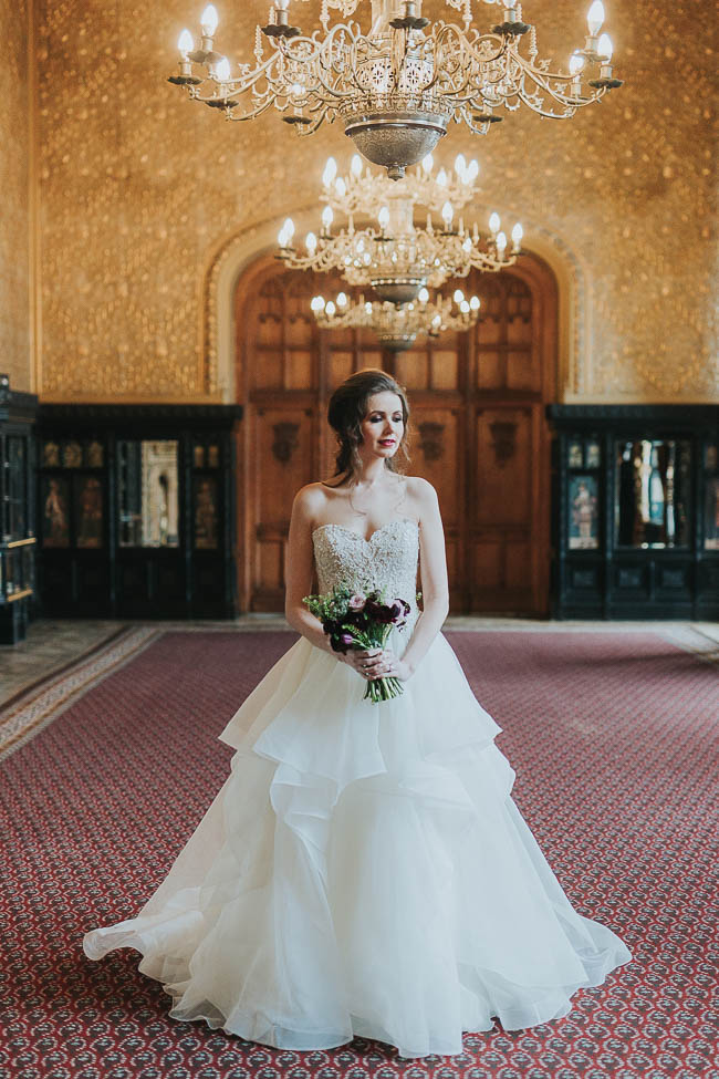 Gothic and glamorous wedding inspo from Carlton House in Yorkshire with Laura Calderwood Photography (3)