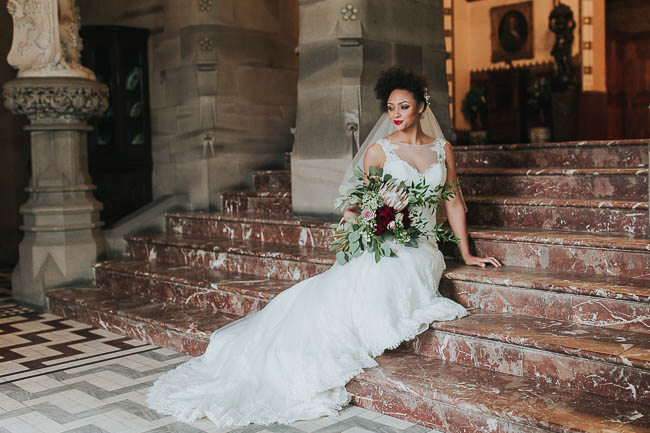 Gothic and glamorous wedding inspo from Carlton House in Yorkshire with Laura Calderwood Photography (27)