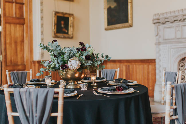 Gothic and glamorous wedding inspo from Carlton House in Yorkshire with Laura Calderwood Photography (29)