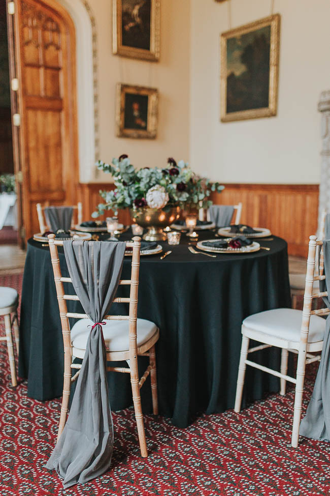 Gothic and glamorous wedding inspo from Carlton House in Yorkshire with Laura Calderwood Photography (30)