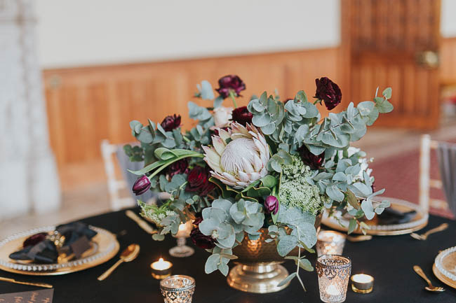 Gothic and glamorous wedding inspo from Carlton House in Yorkshire with Laura Calderwood Photography (34)