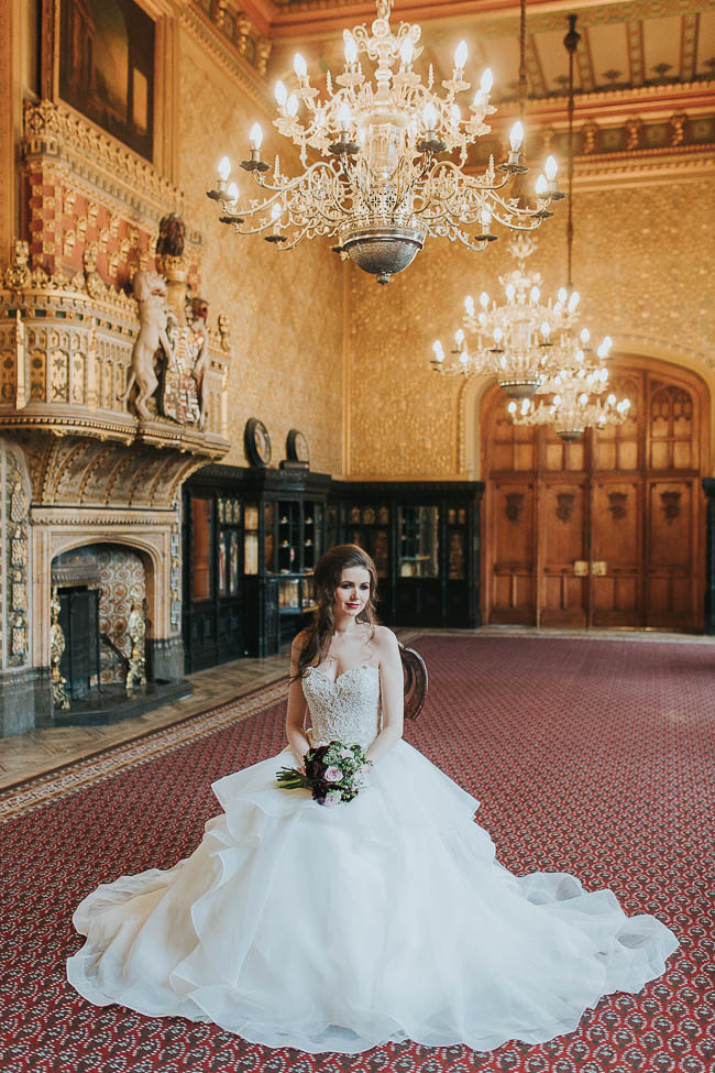 Gothic and glamorous wedding inspo from Carlton House in Yorkshire with Laura Calderwood Photography (5)