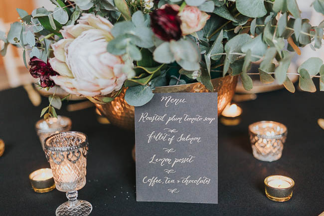 Gothic and glamorous wedding inspo from Carlton House in Yorkshire with Laura Calderwood Photography (35)