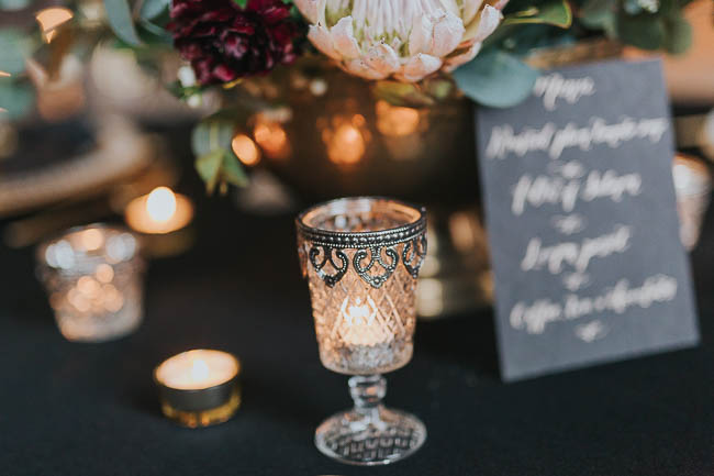 Gothic and glamorous wedding inspo from Carlton House in Yorkshire with Laura Calderwood Photography (36)