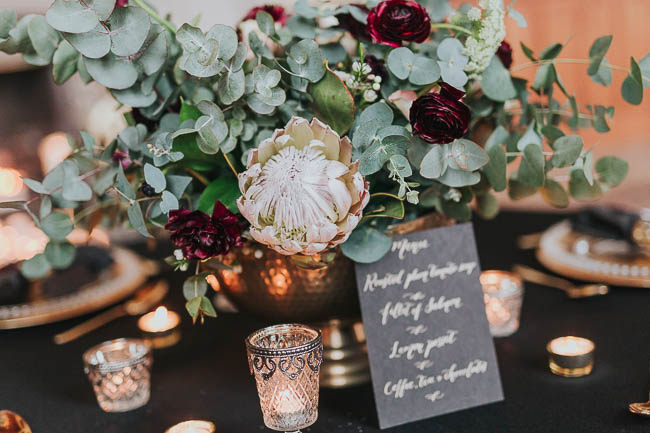 Gothic and glamorous wedding inspo from Carlton House in Yorkshire with Laura Calderwood Photography (37)