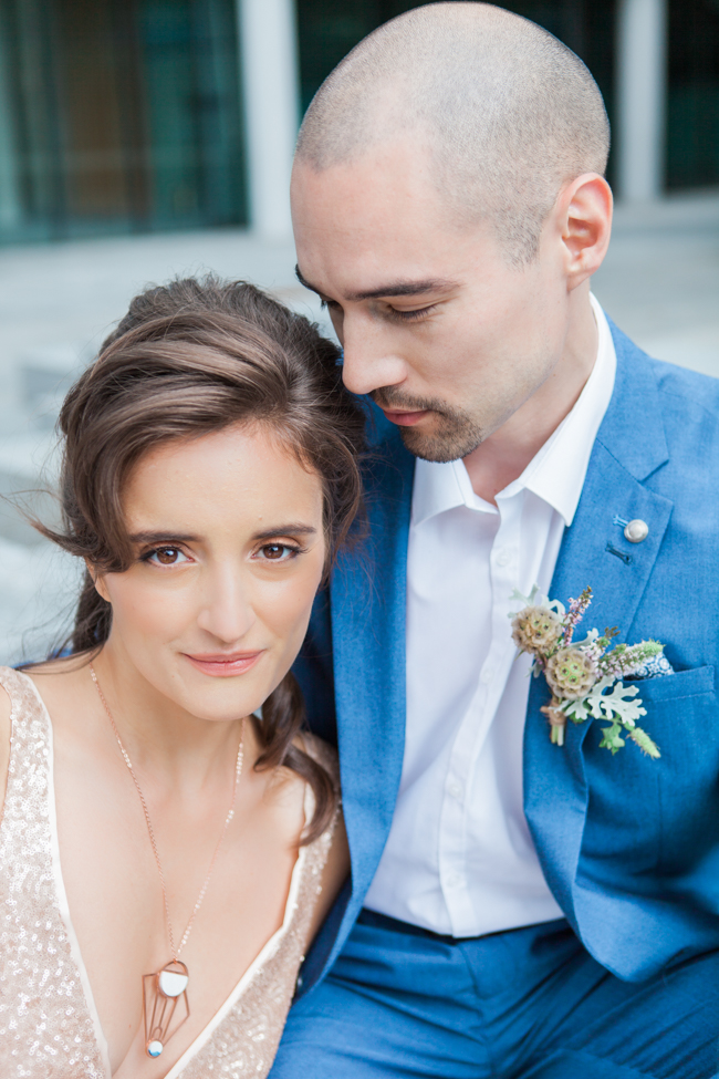 Copper and succulents for a Refinery wedding with Amanda Karen Photography Essex (22)