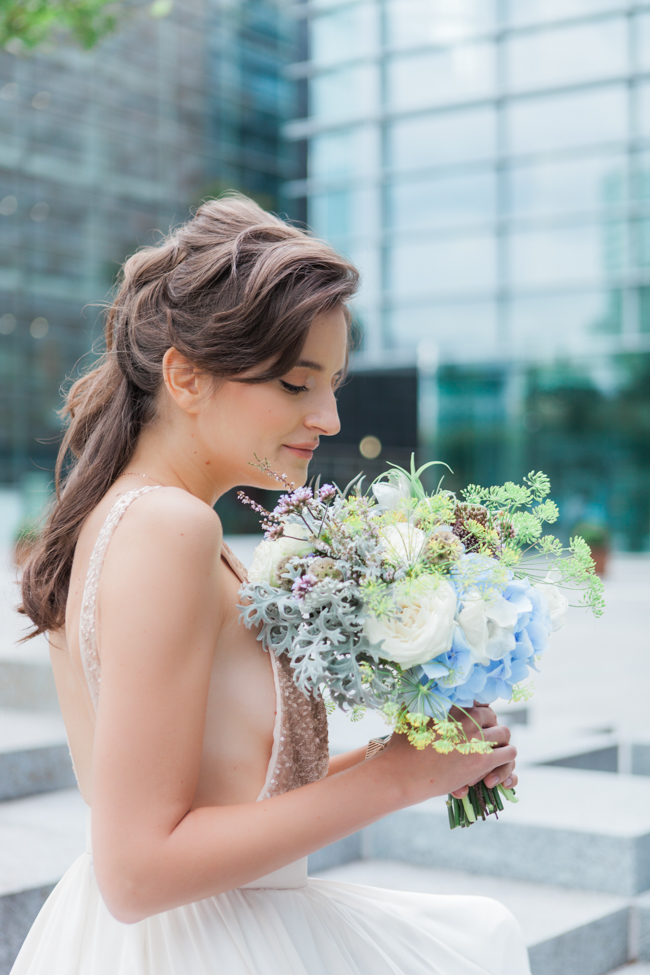 Copper and succulents for a Refinery wedding with Amanda Karen Photography Essex (25)