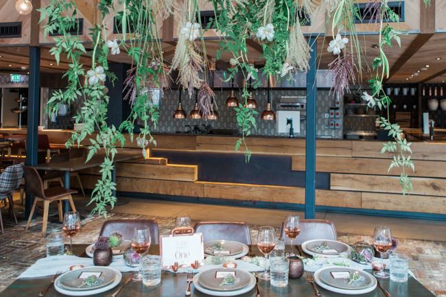 Copper and succulents for a Refinery wedding with Amanda Karen Photography Essex (34)