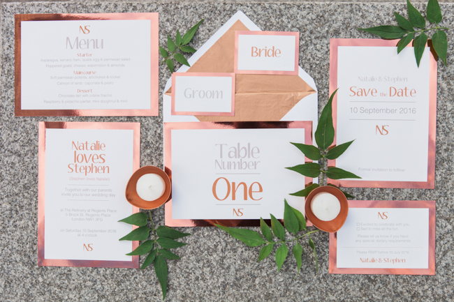Copper and succulents for a Refinery wedding with Amanda Karen Photography Essex (39)