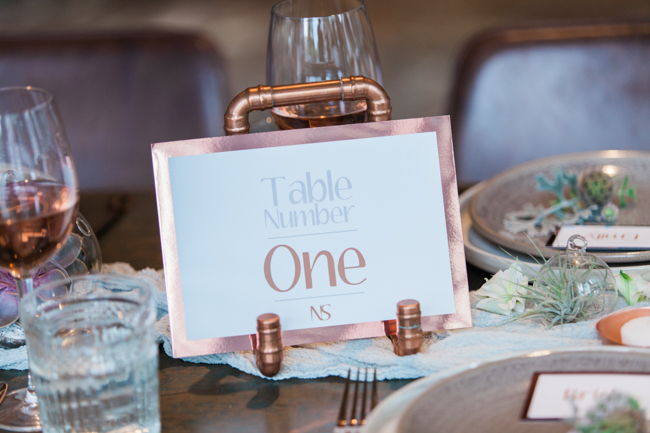 Copper and succulents for a Refinery wedding with Amanda Karen Photography Essex (40)