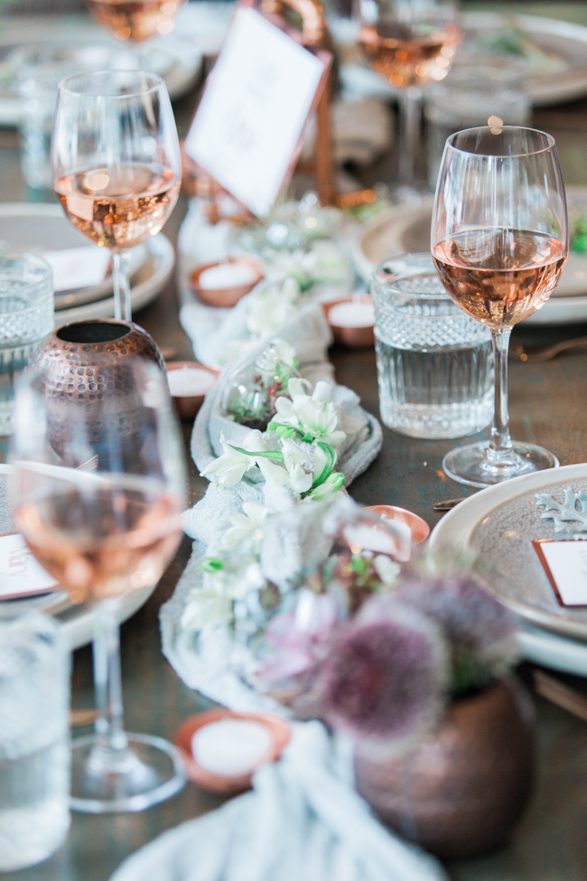 Copper and succulents for a Refinery wedding with Amanda Karen Photography Essex (44)