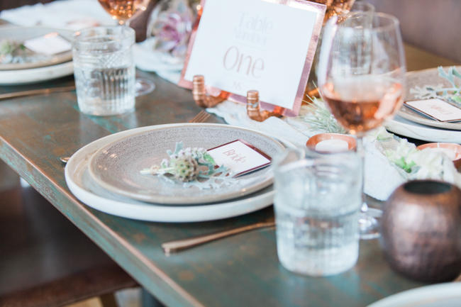 Copper and succulents for a Refinery wedding with Amanda Karen Photography Essex (45)