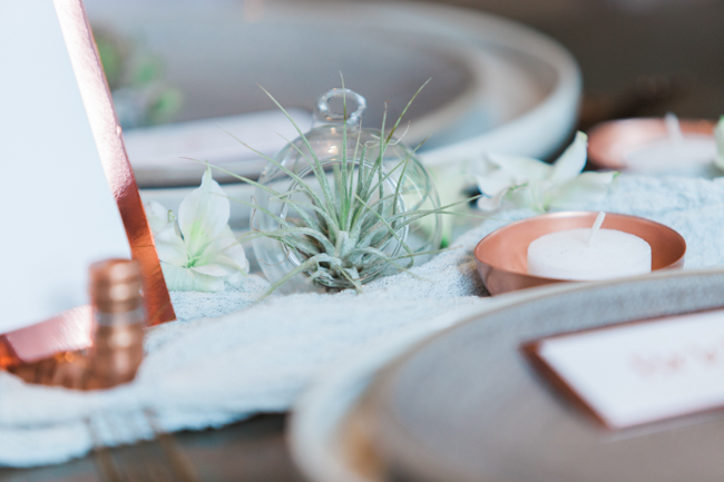 Copper and succulents for a Refinery wedding with Amanda Karen Photography Essex (46)