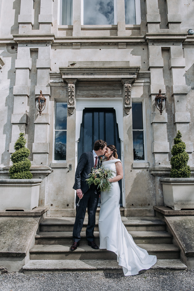 A fabulous bouquet for Nick & Katherine's designer wedding at Cleatham Hall, photography by Kazooieloki (10)