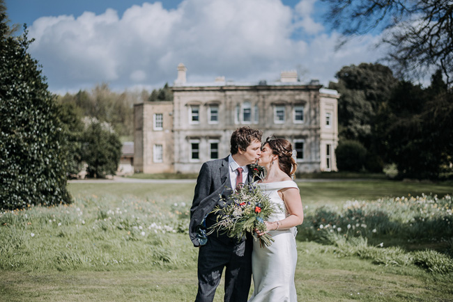 A fabulous bouquet for Nick & Katherine's designer wedding at Cleatham Hall, photography by Kazooieloki (14)
