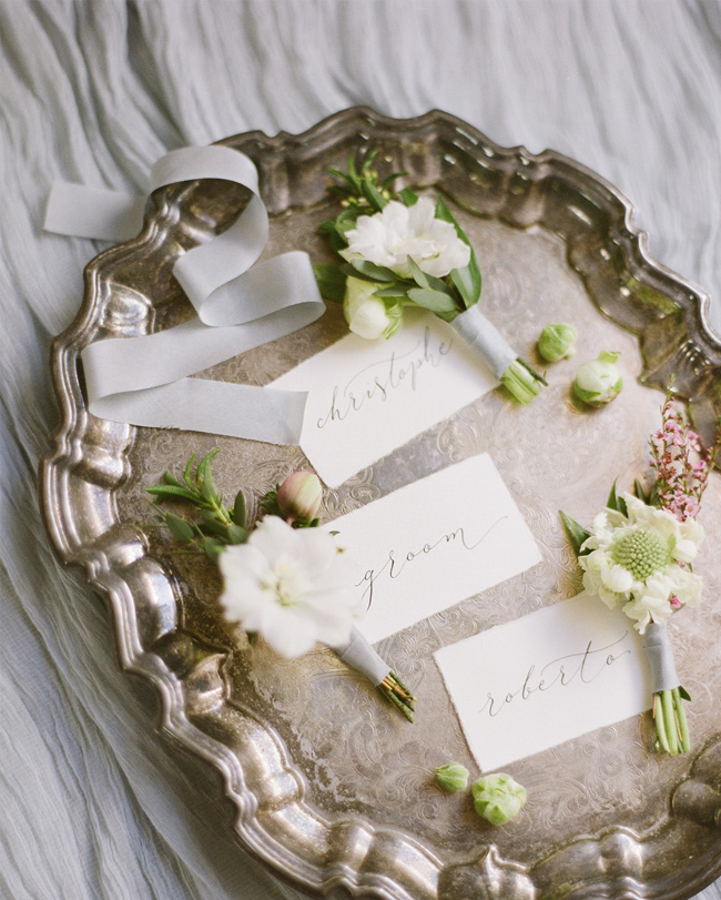 Simple wedding styling ideas for a fine art wedding, image by Lara Rios Photography (6)