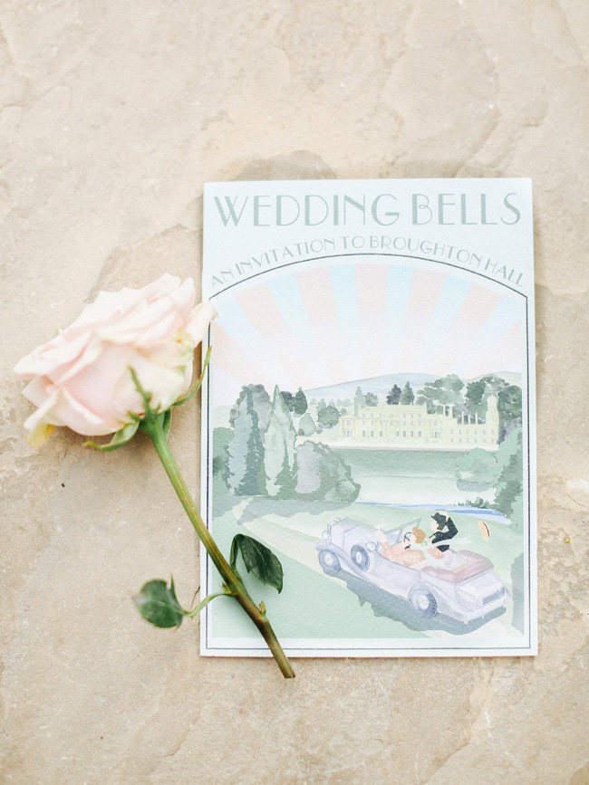 Fabulous inspo for a 1920s vintage wedding at Broughton Hall on the English Wedding Blog (7)