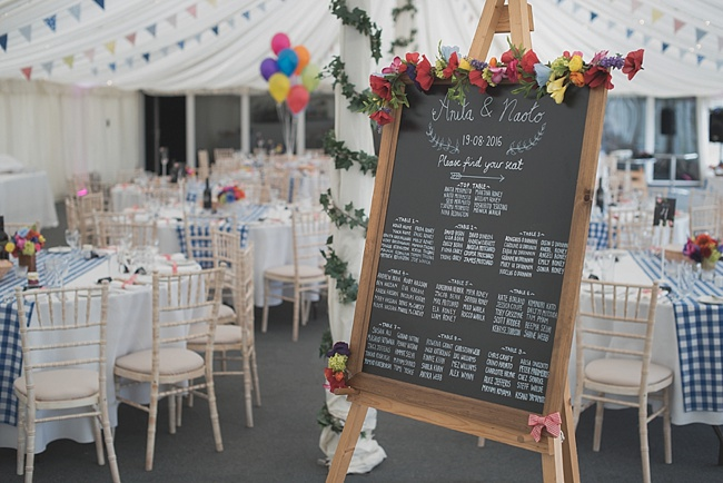 Vibrant colours and beautiful styling for a Shenley Cricket Club wedding by Linus Moran Photography (21)