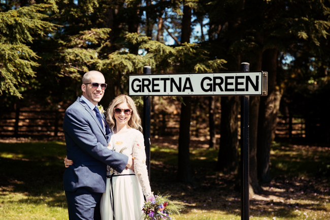 beautiful elopement images from Gretna Green, images by Camilla Lucinda Photography (1)