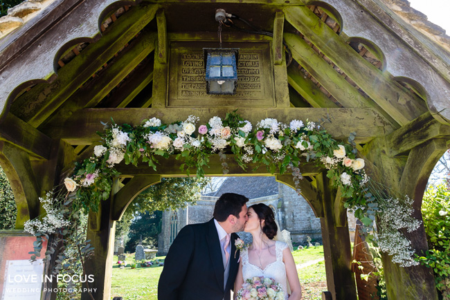 A sweet and pretty vintage wedding on the English Wedding Blog. Image by Love in Focus (14)