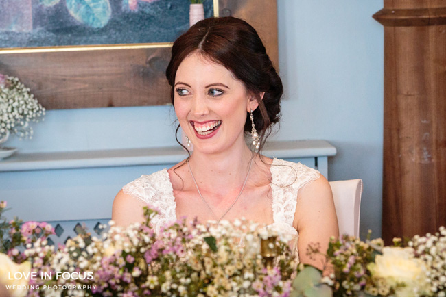 A sweet and pretty vintage wedding on the English Wedding Blog. Image by Love in Focus (23)