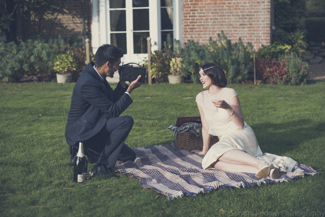 1930s true vintage wedding styling from Sprivers Mansion in Kent, with Sandra Reddin Photography (18)