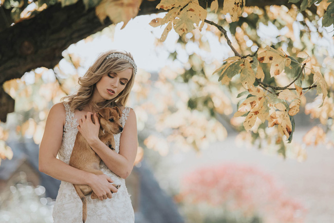 Cute puppy wedding blog, images by Oobaloos Photography (10)
