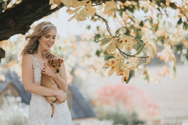 Cute puppy wedding blog, images by Oobaloos Photography (9)