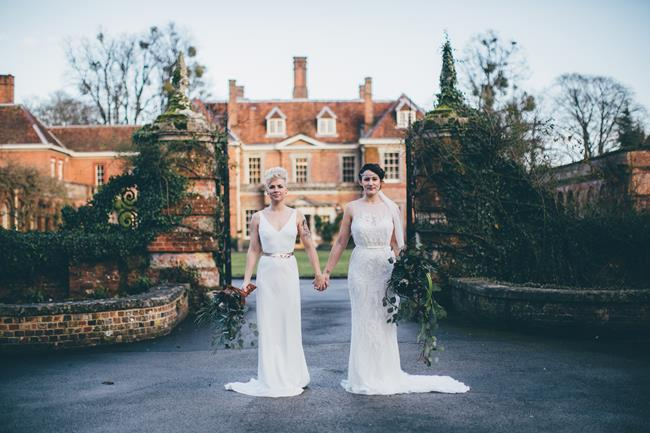 Beautiful winter wedding styling at Lainston House with Hayley Savage Photography (7)