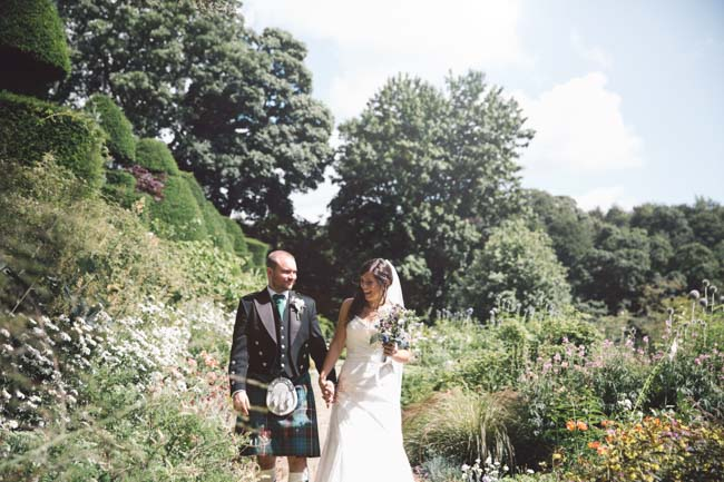 Thistles and kilts for a Scottish themed wedding in Penrith, with Jessica Lang Photography (6)