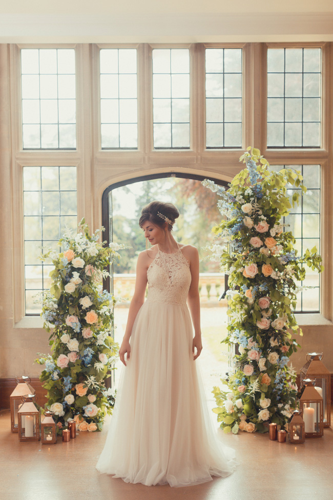 Summer wedding styling ideas with a twist by Pudding Bridge. Image credit James Green Photography (10)
