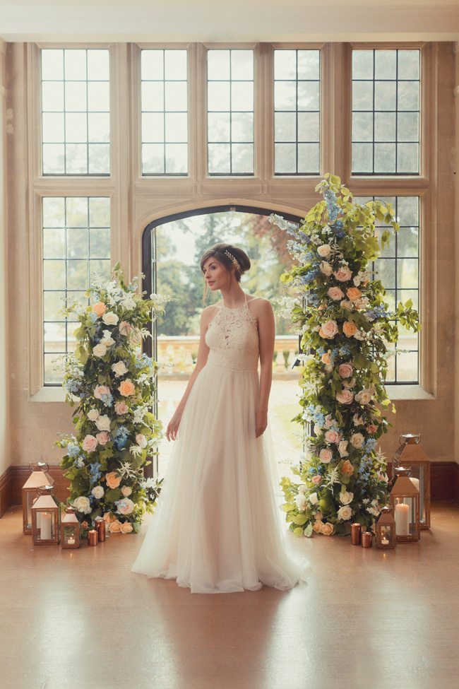 Summer wedding styling ideas with a twist by Pudding Bridge. Image credit James Green Photography (9)