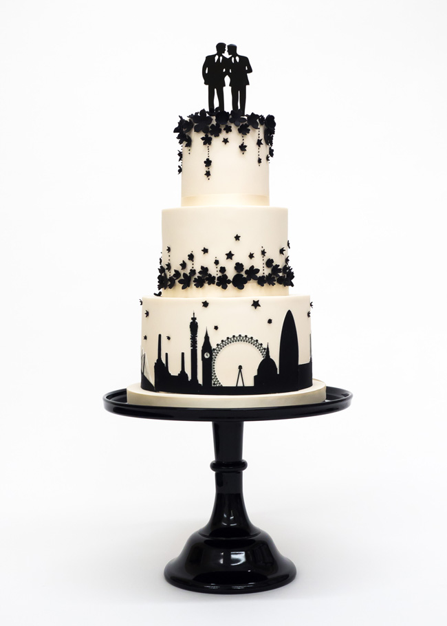 Tiered and single tier wedding cake inspiration by Rosalind Miller Cakes (11)