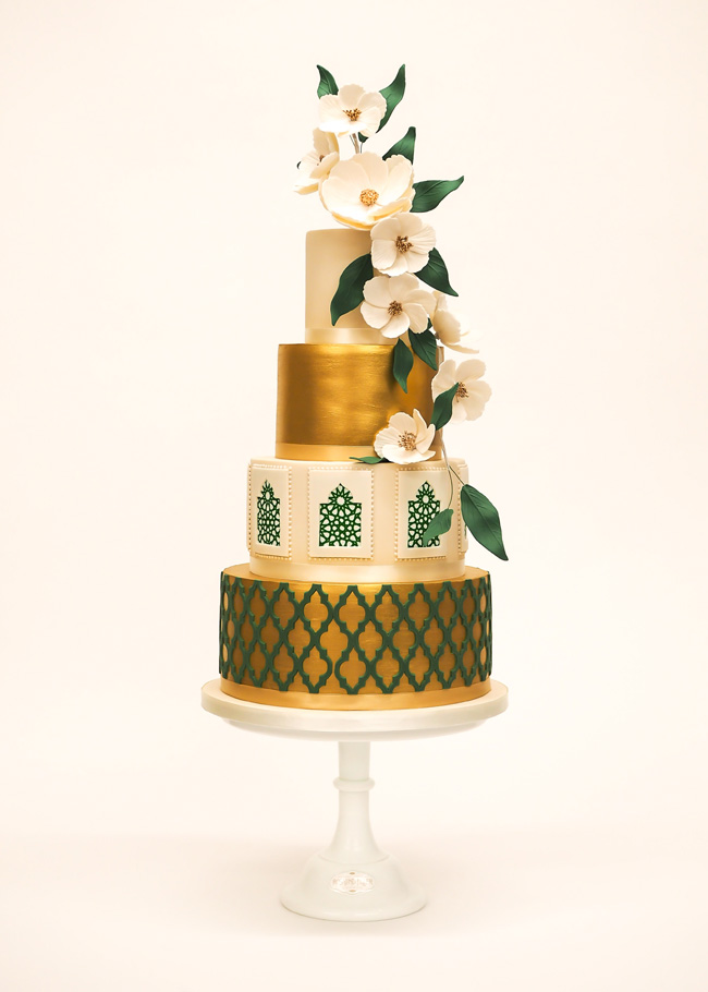 Tiered and single tier wedding cake inspiration by Rosalind Miller Cakes (14)