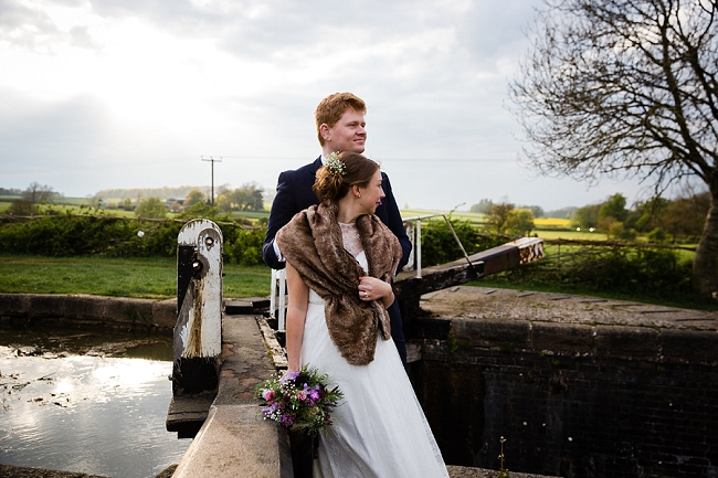 A romantic English wedding by the canal with images by Helen King Photography (22)