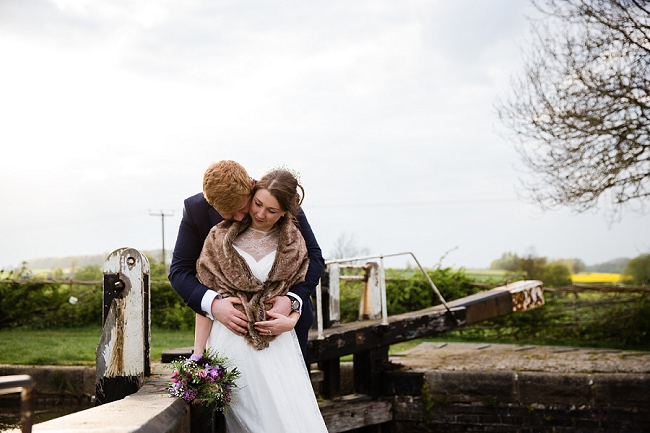 A romantic English wedding by the canal with images by Helen King Photography (23)