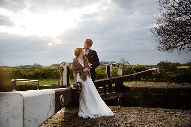 A romantic English wedding by the canal with images by Helen King Photography (24)