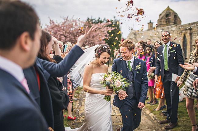 Village hall wedding styling ideas from Northumberland with Andy Hudson Photography (11)