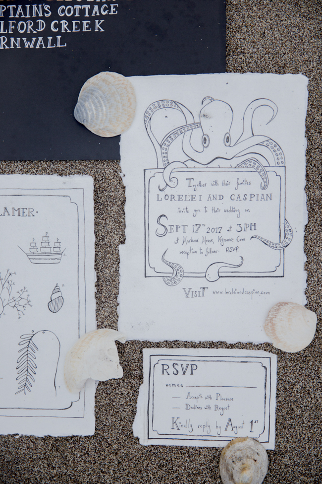 Tales of the sea - inspirational beach wedding style fromSerpentine Shores and Salt & Sea Photography (32)