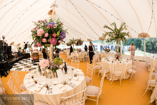Beautiul styling ideas and luxe marquee florals, image credit Suzy Mitchell Photography (25)