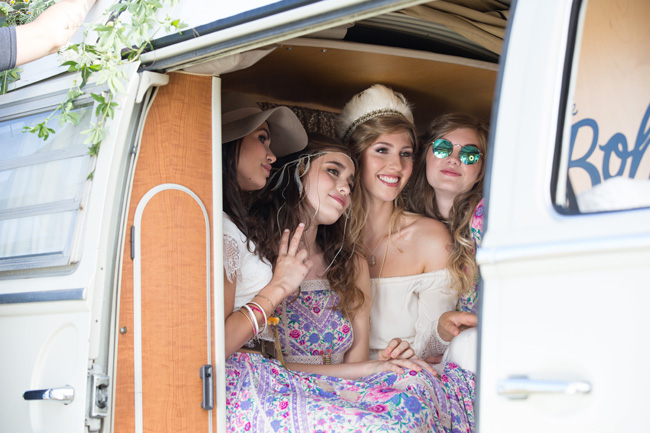 Hire a fun vintage VW photo booth for your UK wedding (6)
