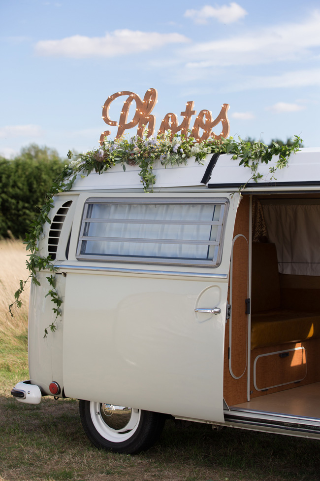 Hire a fun vintage VW photo booth for your UK wedding (7)