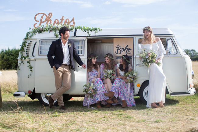 Hire a fun vintage VW photo booth for your UK wedding (10)