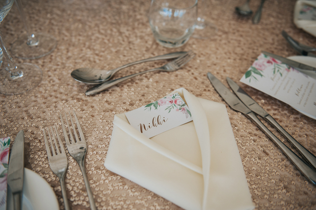 Bluebells and elegant Derbyshire wedding styling ideas and suppliers, image credit Rosie Kelly Photography (5)