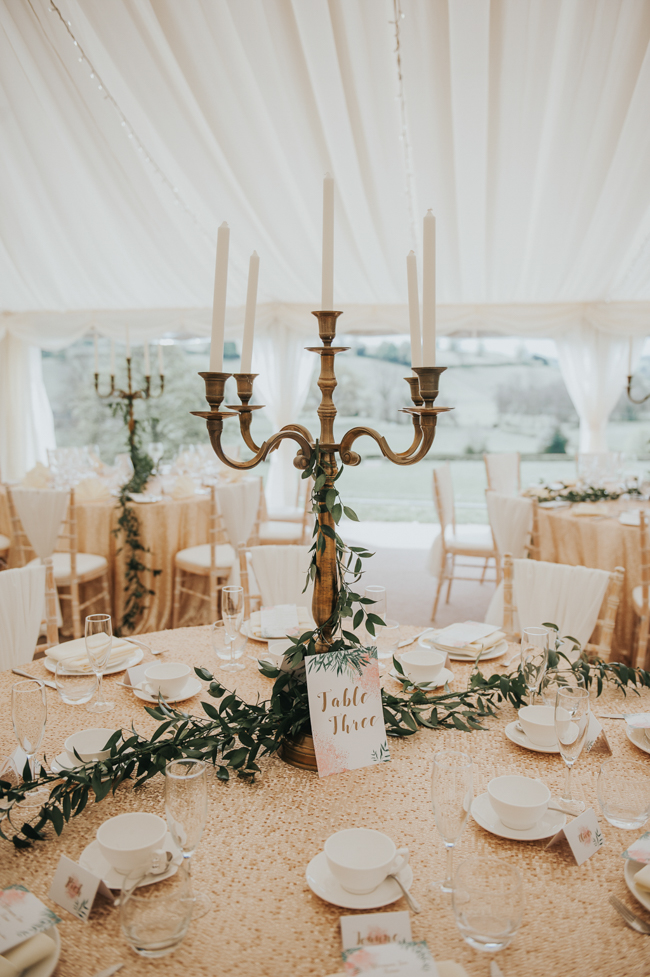 Bluebells and elegant Derbyshire wedding styling ideas and suppliers, image credit Rosie Kelly Photography (8)